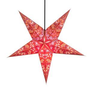 Paper Star Lantern - Orange Dawn