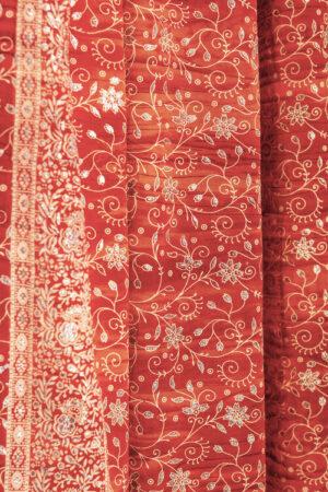 Sari Curtain - Copper - Closeup