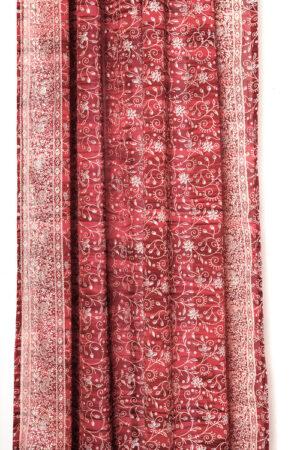 Sari Curtain - Crimson - Closeup 2