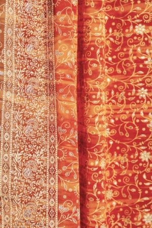 Sari Curtain - Gold - Closeup 2