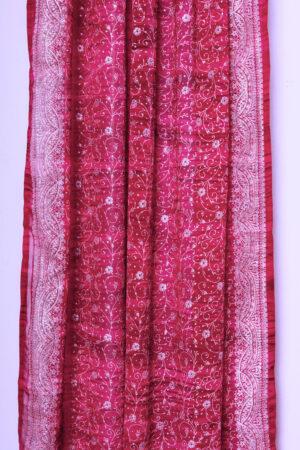 Sari Curtain - Magenta - Closeup