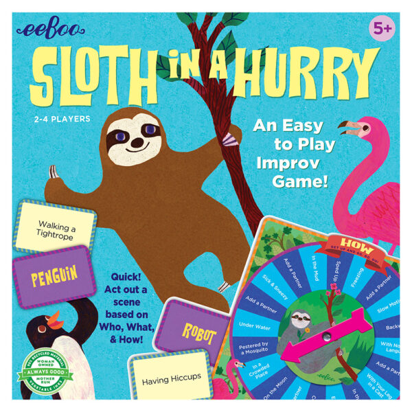 Children's Educational Games - Sloth in a Hurry box cover