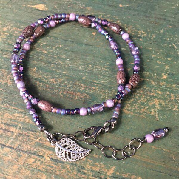 Purple Wrap Bracelet