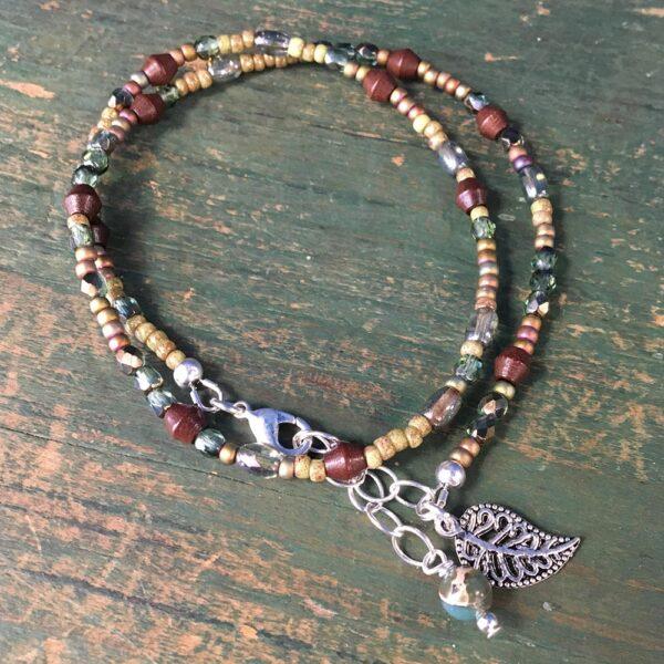 Olive Boho Bracelet