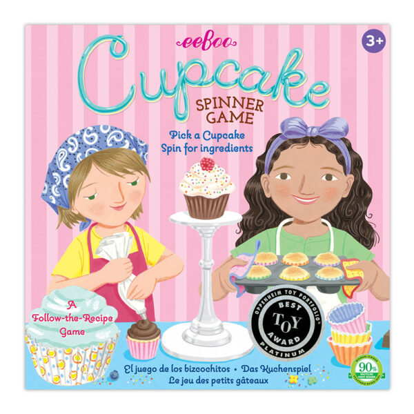 Children's Educational Games - Cupcake Spinner box cover