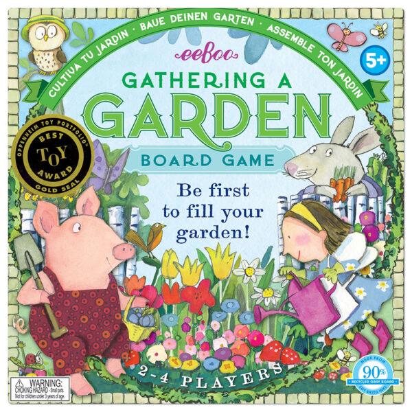 Children's Educational Games - Gathering a Garden box cover