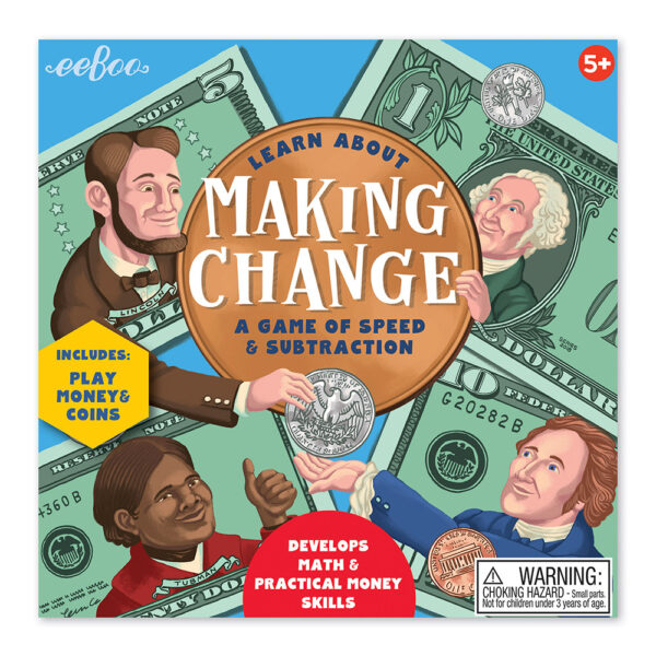 Children's Educational Games - Making Change box cover